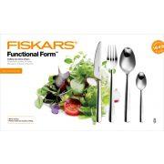 FISKARS Functional Form fényes evőeszköz készlet (24 részes)
