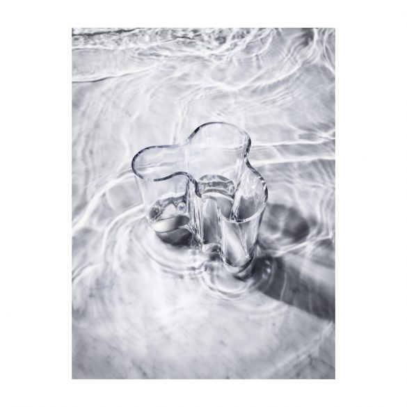 IITTALA AALTO váza 160 mm, átlátszó