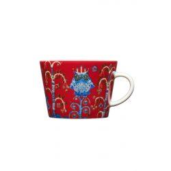 IITTALA TAIKA cappuccino csésze 0,2 L, vörös