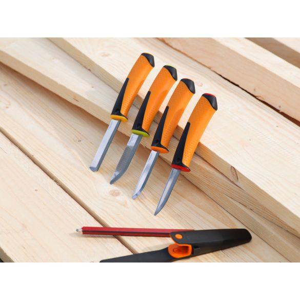 Hardware kés famunkákhoz, tokba épített élezővel