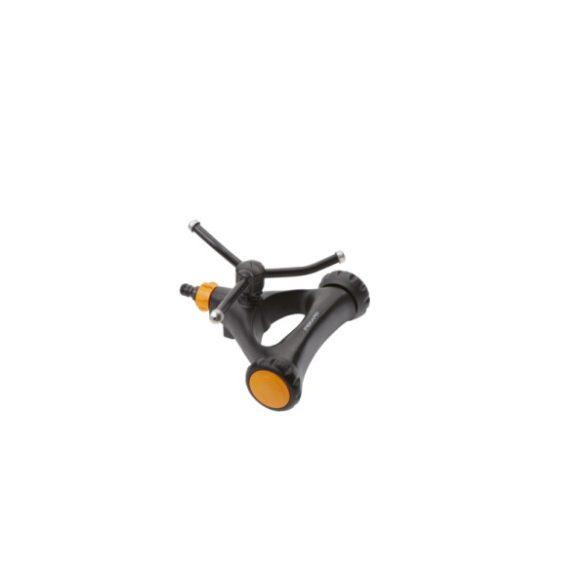 FISKARS Comfort örvényes kör esőztető, kerekekkel 0-150 m2 (S)