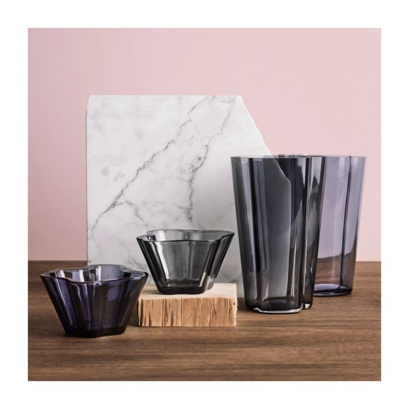 IITTALA AALTO váza 220 mm, szürke