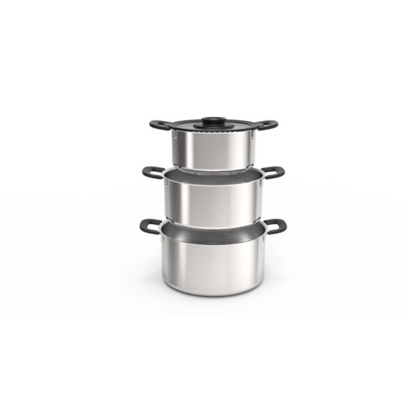 FISKARS Functional Form lábas, fedővel (7 liter)