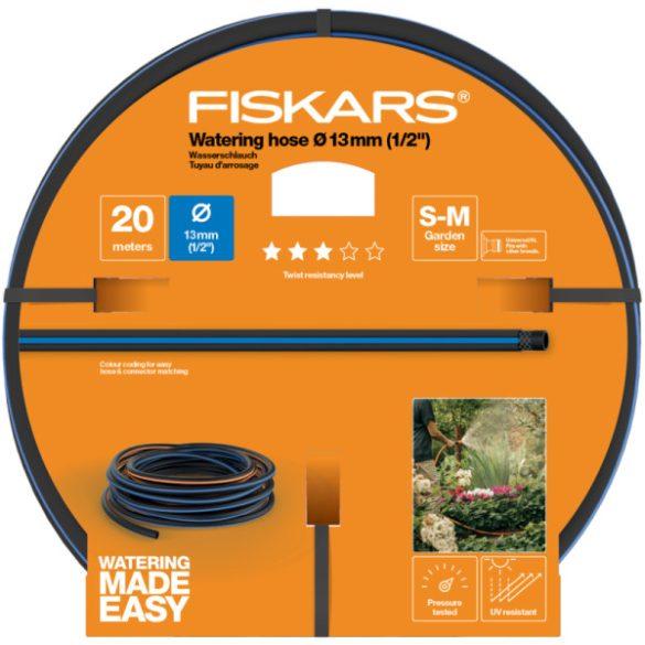 """FISKARS Solid locsolótömlő 13 mm (1/2"""") 20 m Q3 + AJÁNDÉK KULCSTARTÓ"""