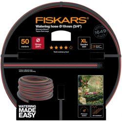 """FISKARS Comfort locsolótömlő 19 mm (3/4"""") 50 m Q4 + AJÁNDÉK KULACS"""
