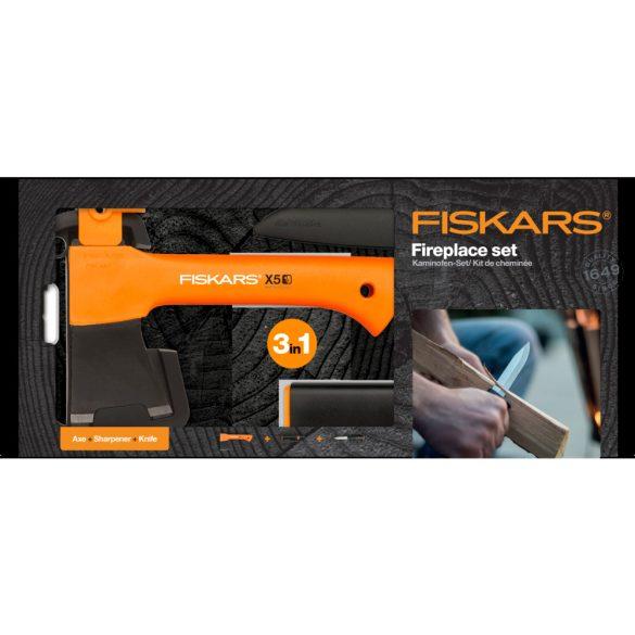 FISKARS X5 tűzrakó készlet (3 részes)