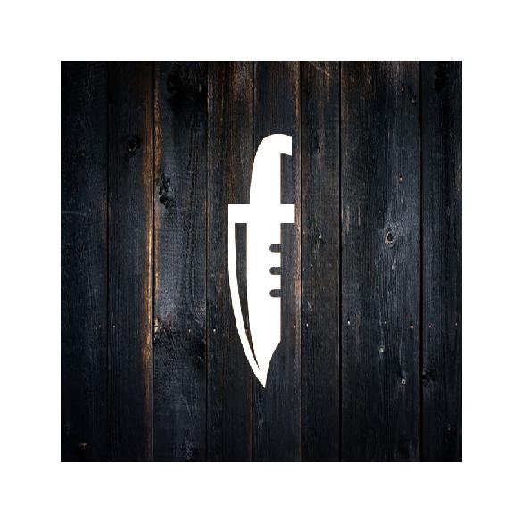DICK Vágódeszka 26,5x35,5x1,8 cm, piros